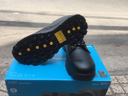 Giày bảo hộ lao động, đế cao su p01