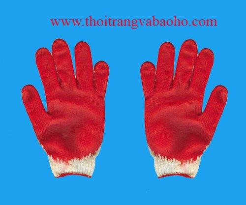 Găng tay len nhúng nhựa cao su 02
